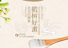 长白山椴树蜂蜜-详情页设计