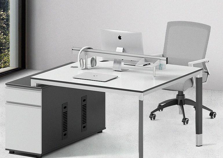 办公家具员工桌子桌椅详情页