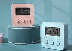 厨房计时器提醒器学生做题定时器闹钟家用秒表倒计时间管理器